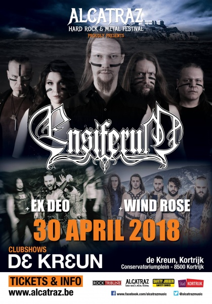 Ensiferum @ Courtrai