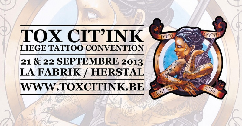 News le salon du tattoo li ge a un site for Salon du tattoo nice